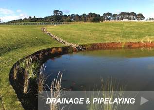 Drainage Pipelaying